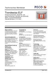 Trendweiss ELF - Peter sen
