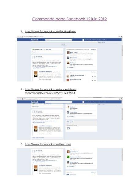 Commande page Facebook 12 juin 2012 - Petit Fichier