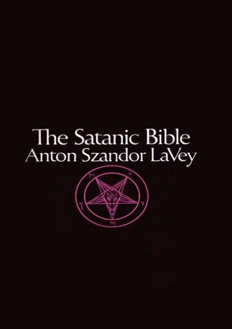 le livre de satan