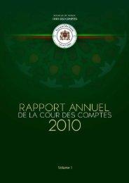 Rapport da la cour des comptes 2010 (Tome 1) - Transparency