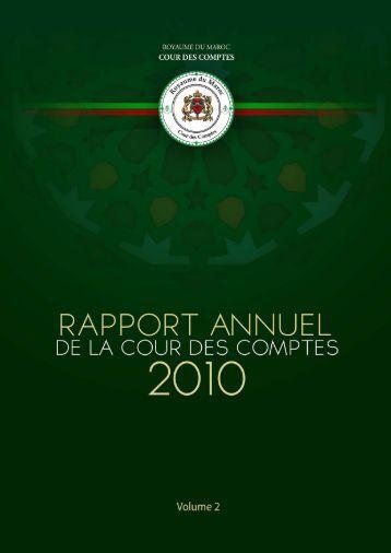 Rapport da la cour des comptes 2010 (Tome 2) - Transparency