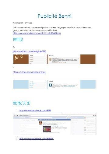 Twitter Facebook - Petit Fichier