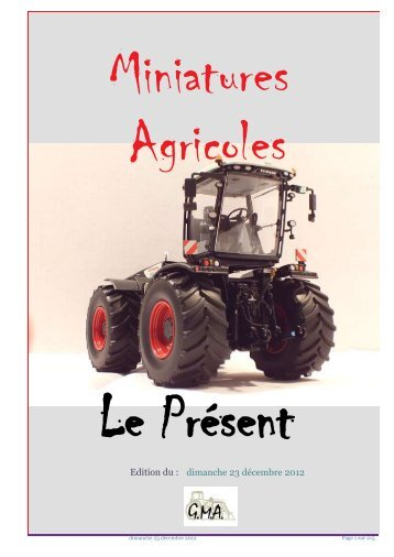 dimanche 23 décembre 2012 Edition du : - Petit Fichier
