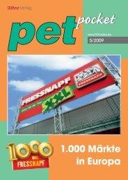 Fressnapf: 1.000 Märkte in Europa - PET-global