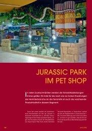 JURASSIC PARK IM PET SHOP - PET-global