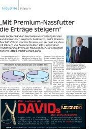 """""""Mit Premium-Nassfutter die Erträge steigern"""" - PETonline"""
