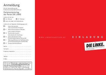 Programm - Petra Pau