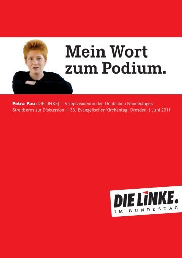 pdf dazu - Petra Pau