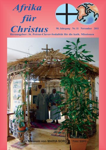 Nr. 11. November - bei den Missionsschwestern des hl. Petrus Claver
