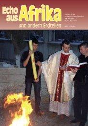 Nr. 3. April - bei den Missionsschwestern des hl. Petrus Claver