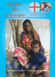 Nr. 5. Mai - bei den Missionsschwestern des hl. Petrus Claver