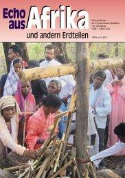 Nr. 2.März - bei den Missionsschwestern des hl. Petrus Claver