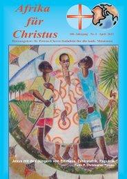 Nr. 4.April - bei den Missionsschwestern des hl. Petrus Claver