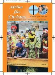 Nr. 3. März - bei den Missionsschwestern des hl. Petrus Claver