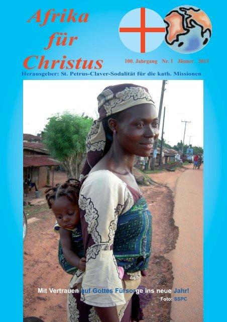 Nr. 1.Januar - bei den Missionsschwestern des hl. Petrus Claver