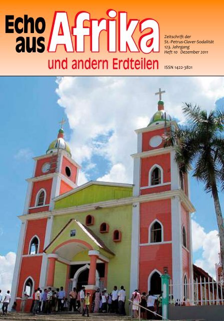 Nr.10 Dezember - bei den Missionsschwestern des hl. Petrus Claver