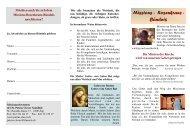 Missions - Rosenkranz - Bündnis - bei den Missionsschwestern des ...