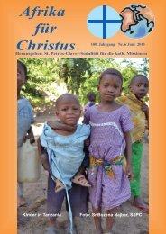 Nr. 6.Juni - bei den Missionsschwestern des hl. Petrus Claver