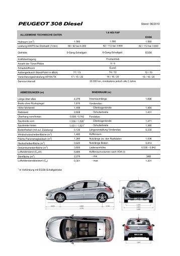 Kopie von 308_diesel_1.6_HDi - PEUGEOT Presse