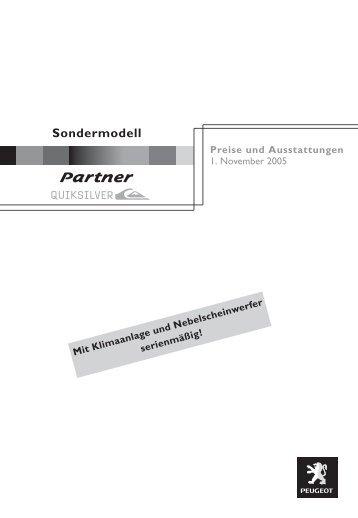 Partner - PEUGEOT Presse