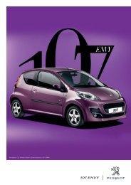 107 ENVY - Peugeot
