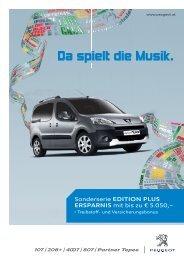 Da spielt die Musik. - Peugeot