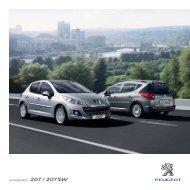 ACCESSOIRES 207 / 207 SW - Peugeot