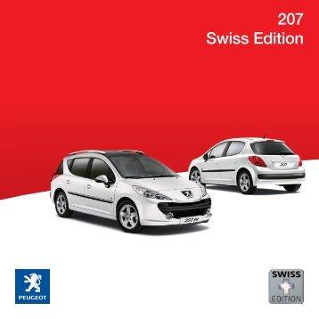 207 swiss edition - Peugeot