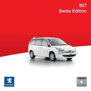 807 Swiss Edition - Peugeot