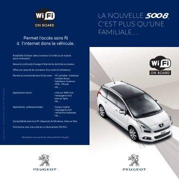 LEAFLET 5008 WIFI FR.indd - Peugeot