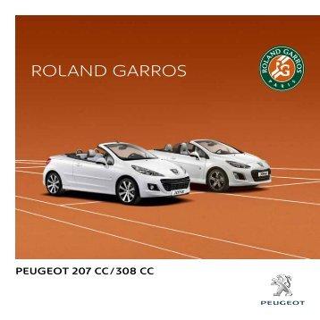 Roland GaRRos - Peugeot