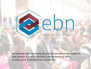 Go Global Now 2014 - Entrepreneurship 360° - EBN innovation network