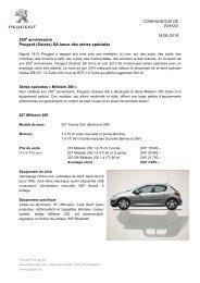 Sonderserien 200 Jahre_FR - Peugeot