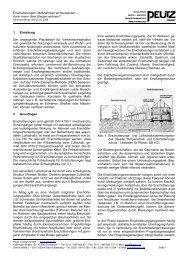 Erschütterungen: Maßnahmen an Neubauten - PEUTZ CONSULT ...
