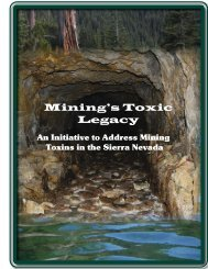 Mining's Toxic Legacy Report - Department of Conservation - State ...