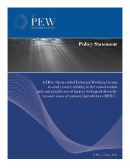 Policy Statement: BBNJ (PDF) - Pew Environment Group