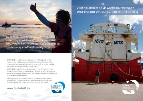 WAT OVERBEVISSING VOOR U BETEKENT 4 De ... - Ocean2012