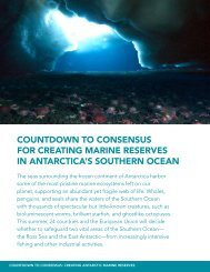Countdown to Consensus for Creating Marine Reserves in ...