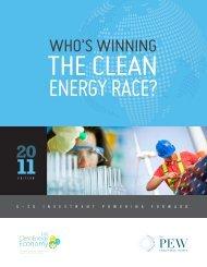 WHO'S WINNING - Bloomberg New Energy Finance
