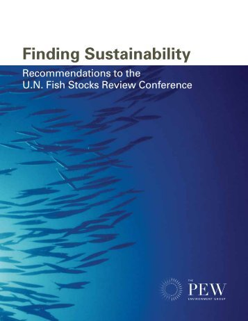 Report: Finding Sustainability - The Pew Charitable Trusts