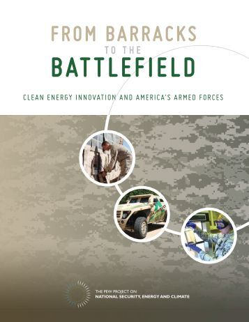 From Barracks to Battlefield: Clean Energy Innovation and