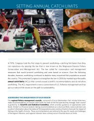 Setting Annual Catch Limits (PDF) - Pew Environment Group