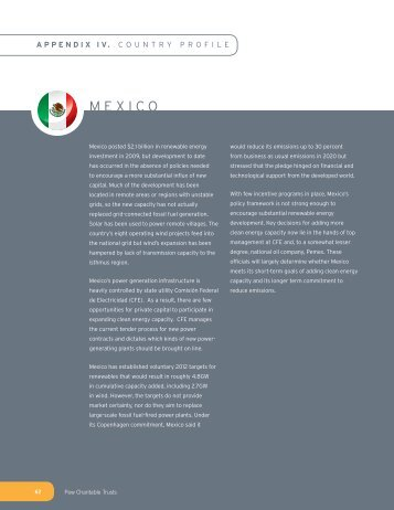 MEXICO - The Pew Charitable Trusts