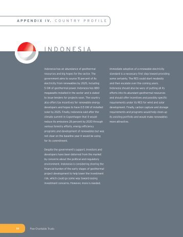INDONESIA - The Pew Charitable Trusts