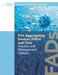(FADs) and Tuna - The Pew Charitable Trusts