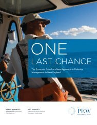 ONE LAST CHANCE:The Economic Case for a New Approach to ...