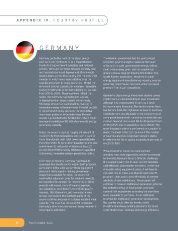 GERMANY - The Pew Charitable Trusts
