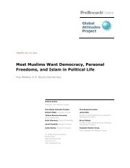 Most Muslims Want Democracy, Personal Freedoms, and Islam in ...