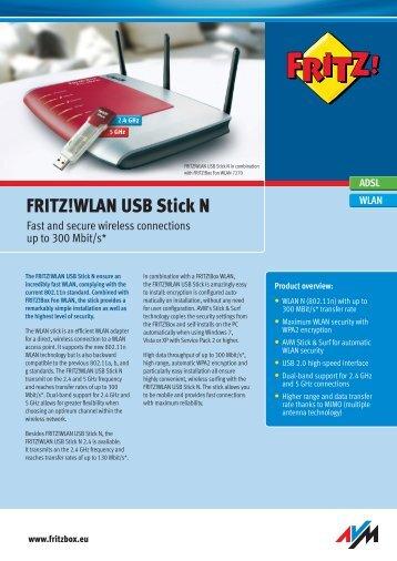 NEU Portrait F!WLAN USB Stick N_int