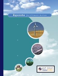 + + + Agenda for Climate Action - The Pew Charitable Trusts